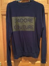 Primark 'J'adore Couture' Navy Jumper - Woman's Size UK 10