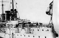 OLD PHOTO World War One German Cruiser Von Der Tann 1914