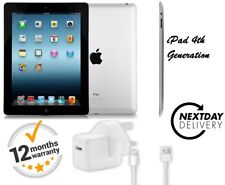 Apple IPAD 4th GEN. 32GB Wi-Fi, 9.7in Nero Grado A GARANZIA gratis accessori 1Y