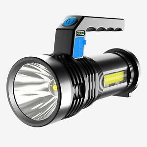 Super Helle Taschenlampe Suchscheinwerfer Handheld Tragbare Led-strahler USB