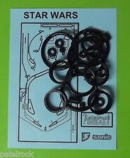 1986 Sonic Star Wars pinball rubber ring kit