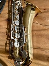More details for earlham tenor saxophone with hard case and shoulder strap, great condition!