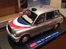 "1:18 Diecast 1998 Tx1 London Taxi Cab ""American Airlines"" Version By SunStar VR"