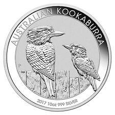 2017 Perth Mint - Silver Kookaburra - 10 oz Coin