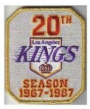 LOS ANGELES KINGS 20th ANNIVERSARY PATCH LA KINGS JERSEY PATCH