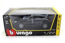 Bburago LANCIA DELTA HPE BLACK 1/24 Diecast Toys Car 21068BK