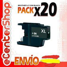 20 Cartuchos de Tinta Negra LC1240 NON-OEM Brother MFC-J430W / MFCJ430W