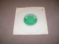 "The Duplicates - I Want to Make You Very Happy - STIFF 7"" Vinyl 45 - 1979 - NM"
