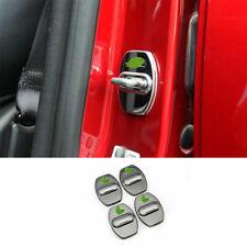 For Chevrolet Equinox 2018-2020 Black Titaniu Door Buckle Protection Cover Trim