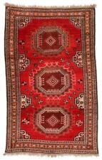 Antique Central Asian Turkmen Rug: 3'7'' x 5'9'' (109 x 175 cm) Lot 528