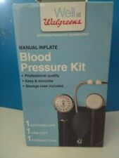 Well at Walgreens Manual Inflate Blood Pressure Kit