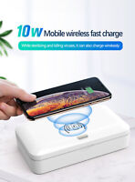 Ultraviolet Sterilizer + Wireless Charger - Charge & Disinfect Simultaneously
