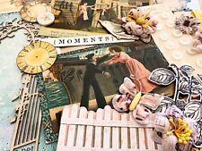 Vintage Ephemera & Postcards Mega Lot-junk journaling, card making, scrapbooking