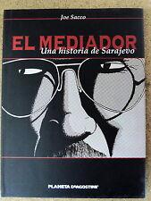 El Mediador,una Historia de Sarajevo,Joe Sacco,Planeta