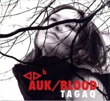 TANYA TAGAQ - AUK/BLOOD NEW CD