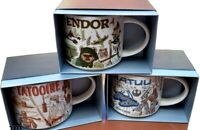 Disney Parks Star Wars Starbucks Been There 2021 Mug Set Batuu Endor Tatooine