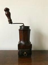 MOULIN CAFE NOYER SCULPTE LOUIS XIV XVIIIEME 18TH CENTURY WALNUT COFFEE GRINDER