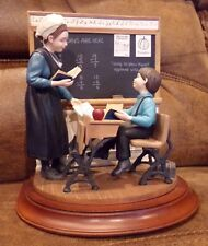 Wilitts Amish Heritage Figurine, School Days 1994 Limited edition. 1st issue.