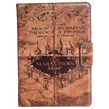 Harry Potter Marauders Map Retro Leather Stand Case For Apple ipad mini 1/2/3