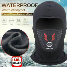 Cold Weather Windproof Thermal Fleece Neck Warm Balaclava Ski Face Mask US A+