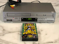Electrohome EH8008P DVD/4 Head Hi-Fi Stereo VCR Combo WORKING W/ Movie!