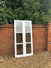 exterior external Solid Hardwood double glazed French doors