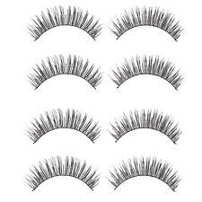 Damen Beauty Make-up Wimpern lange dicke Kreuzend Künstlich Augenwimpern 5 Paare