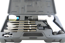 9Pc Multi-Purpose Air Hammer Chisel Set with Case