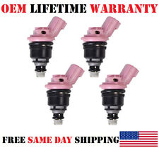 1991-98 NISSAN INFINITI 4.1 2.0 2 Red set of 6 fuel injectors nissan Not Chinese