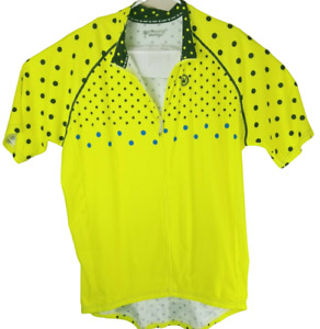 Canari Bike Full Zip Racing Team Bicycle Short Sleeve Cycling Jersey Sz. 2XL