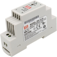 Heschen Meanwell switching power supply DR-15-24 15W 24V 0.63A DIN-Rail UL CE