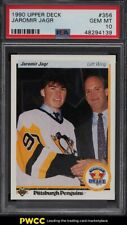 1990 Upper Deck Hockey Jaromir Jagr ROOKIE RC #356 PSA 10 GEM MINT