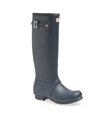HUNTER  Rain Boot, Grey, Sz 8 (uk 6)