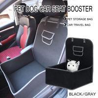 Folding Pet Dog Cat Car Seat Safe Booster Travel Carrier Kennel Puppy Handbag
