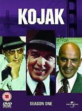 KOJAK COMPLETE SERIES 1 DVD First Season Telly Savalas Dan Frazer Kevin UK New