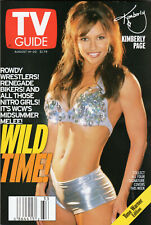 1999 TV Guide - Kimberly Page - WCW - Halle Berry - Rodman - Norris -Sorbo -Hung
