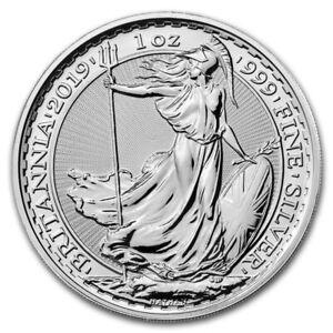 1oz .999 Silver Britannia (Random Year)