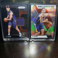 2019-20 Panini Prizm Sensational Swatches Mosiac Silver Ty Jerome Rookie RC Suns