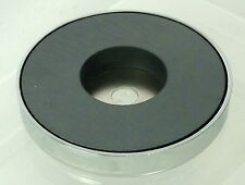 Strong Pot Magnet with Through Hole Mounting 71 x 15.3mm Ferrite Pull 35Kg 77Lbs