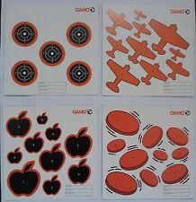 Gamo Air Rifle, Gun, Pistol pellet targets - pack of 100 mixed 14cm sq .177 .22