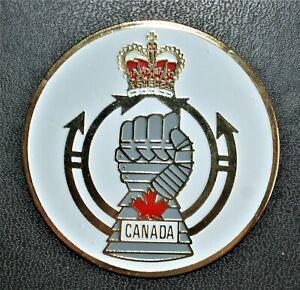 Royal Canadian Armoured Corps - Uniface Medallion