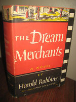 The Dream Merchants Harold Robbins Novel 1st Edition 2nd Printing Salter Dj Art