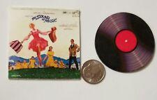 Miniature record  Barbie Gi Joe 1/6  Figure  Playscale Sound of Music Julie
