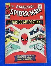 AMAZING SPIDER-MAN #31 ~ MARVEL SILVER COMIC BOOK 1965 1st App Gwen Stacy VG+/FN