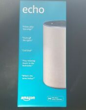 Amazon Echo (2nd Generation, Heather Gray Fabric) Brand New Sealed!