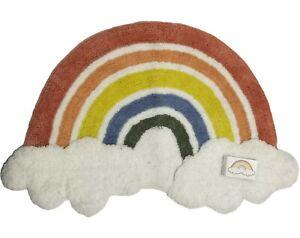 Rascals kids Rainbow Rug Carpet  50 X 80cm New With Tags Playroom Baby Nursery