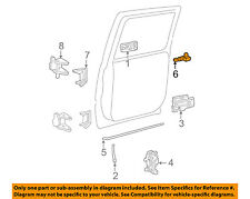 GM OEM Front Door-Lock Lever 15172121