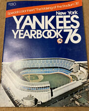 1976 New York Yankees Yearbook
