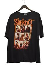 Slipknot Rock Band Vintage Black T-Shirt