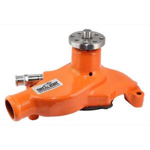 Tuff Stuff Water Pump 1354NCORANGE; Mechanical Orange Cast Iron for Chevy SBC